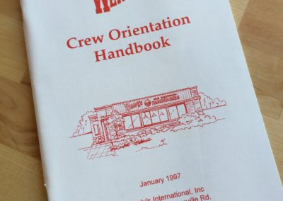 My Wendy's Orientation Handbook